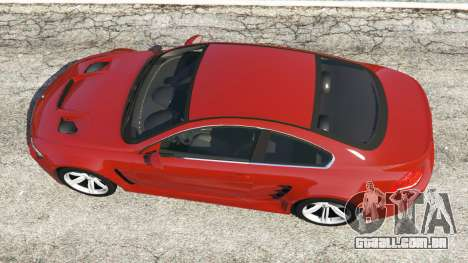 GTA 5 BMW M6 (E63) voltar vista
