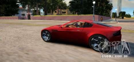 Aston Martin DB9 Vice City Deluxe para GTA 4 traseira esquerda vista
