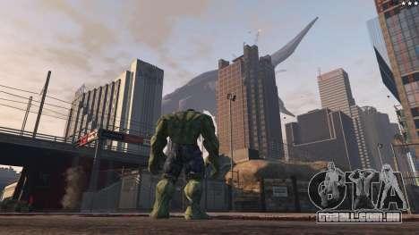 GTA 5 The Hulk sétima screenshot