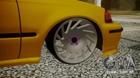 Honda Civic Sedan para GTA San Andreas traseira esquerda vista