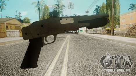 Sawnoff Shotgun by EmiKiller para GTA San Andreas segunda tela