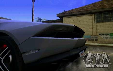 Lamborghini Huracan LP610 VELLANO para GTA San Andreas vista direita