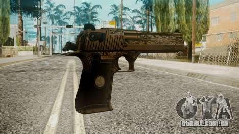 Desert Eagle by EmiKiller para GTA San Andreas segunda tela