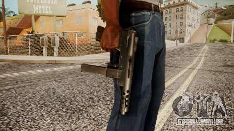 Tec 9 by catfromnesbox para GTA San Andreas terceira tela
