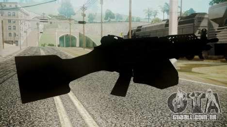 M249 Battlefield 3 para GTA San Andreas terceira tela