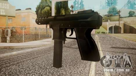 Tec 9 by catfromnesbox para GTA San Andreas segunda tela