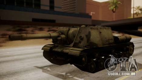 ISU-152 from World of Tanks para GTA San Andreas