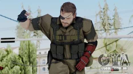 MGSV Phantom Pain Snake (Olive Drab Version) para GTA San Andreas