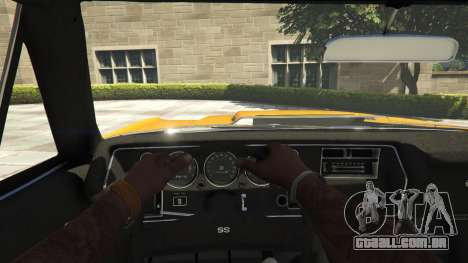 GTA 5 Chevrolet El Camino SS 1970 voltar vista