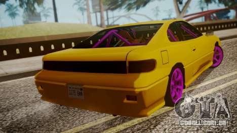 Alpha Drift para GTA San Andreas esquerda vista