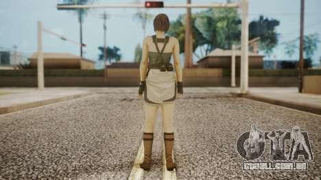 Resident Evil Remake HD - Jill Valentine para GTA San Andreas terceira tela
