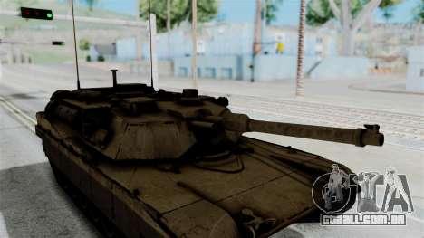 M1A2 Abrams para GTA San Andreas vista direita
