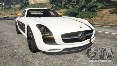 Mercedes-Benz SLS AMG Coupe para GTA 5