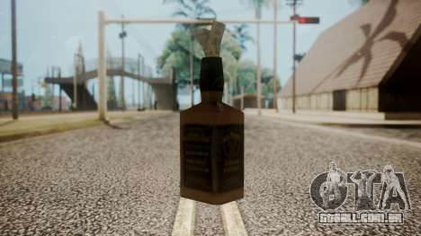 Molotov Cocktail from RE Outbreak Files para GTA San Andreas segunda tela