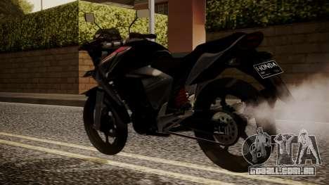 New Mega Pro para GTA San Andreas esquerda vista