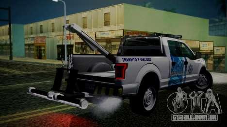 Ford F-150 2015 Towtruck para GTA San Andreas esquerda vista