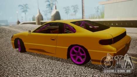 Alpha Drift para GTA San Andreas traseira esquerda vista
