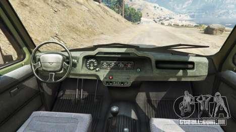 UAZ-3159 bares v2.0 para GTA 5