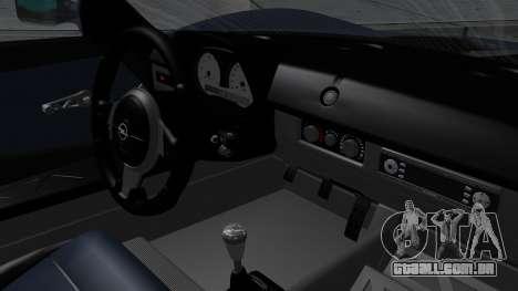 Opel Speedster Turbo 2004 Stock para GTA San Andreas vista direita