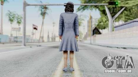 A menina de O poderoso chefão: O Jogo para GTA San Andreas terceira tela