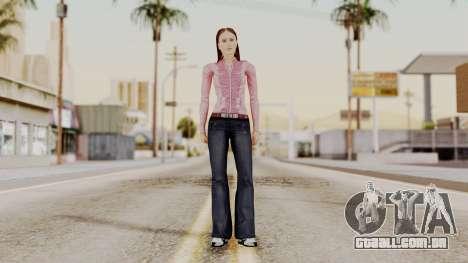 Hfyst CR Style para GTA San Andreas segunda tela