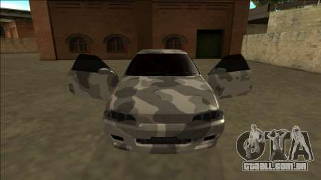 Nissan Skyline R32 Army Drift para GTA San Andreas vista interior