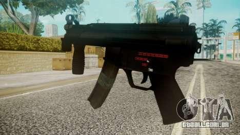MP5 by EmiKiller para GTA San Andreas segunda tela