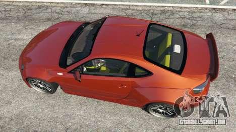 GTA 5 Toyota GT-86 Rocket Bunny v1.3 voltar vista