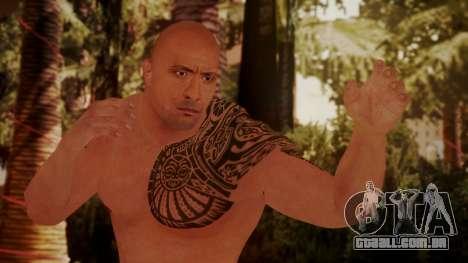 WWE 2K15 The Rock para GTA San Andreas