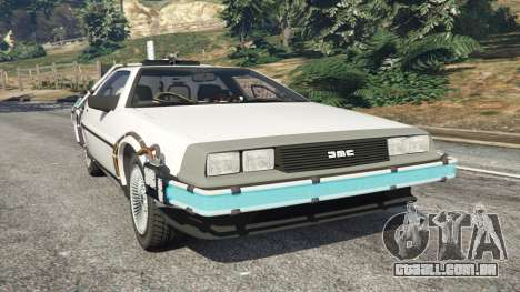 DeLorean DMC-12 Back To The Future v0.5 para GTA 5