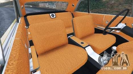 GTA 5 Chevrolet Impala SS 1964 vista lateral direita