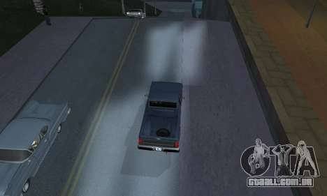 Realistic Lights para GTA San Andreas segunda tela