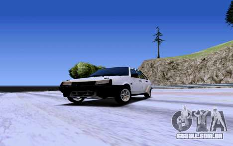 VAZ 2109 Turbo para GTA San Andreas esquerda vista