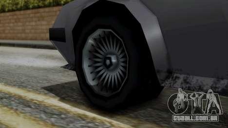 Deluxo from Vice City Stories para GTA San Andreas traseira esquerda vista