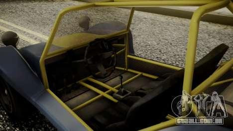GTA 5 BF Bifta para GTA San Andreas vista direita