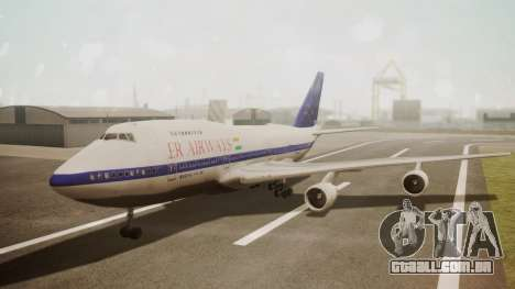 Boeing 747SP ER Airways para GTA San Andreas