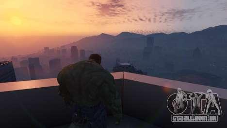 GTA 5 The Hulk segundo screenshot