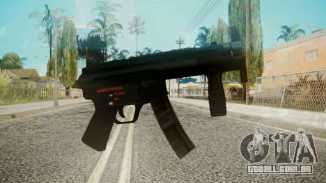 MP5 by EmiKiller para GTA San Andreas