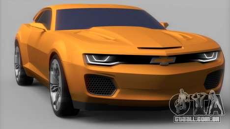 Chevrolet Camaro DOSH Tuning v0.1 Beta para GTA San Andreas traseira esquerda vista