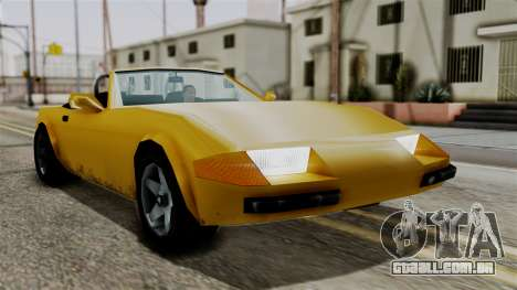 Stinger from Vice City Stories para GTA San Andreas vista direita