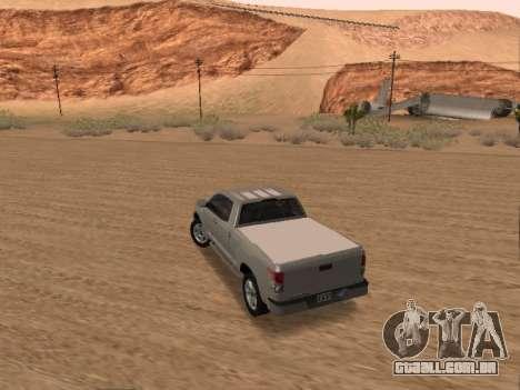 Toyota Tundra para GTA San Andreas esquerda vista