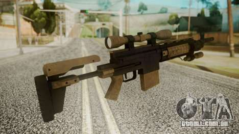 Sniper Rifle from RE6 para GTA San Andreas segunda tela