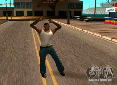 50 Animations v1.0 para GTA San Andreas