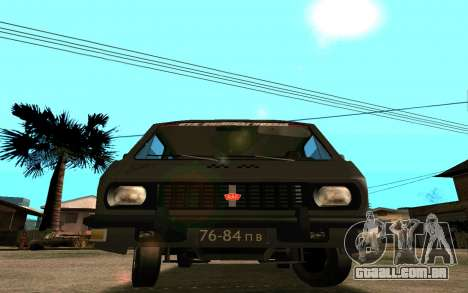 RAF-2203 para vista lateral GTA San Andreas