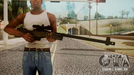 Sniper Rifle by catfromnesbox para GTA San Andreas terceira tela