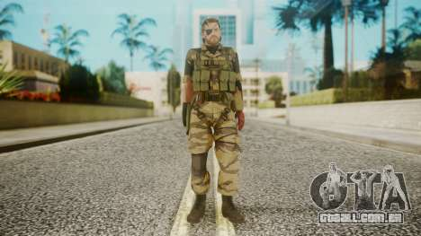 Venom Snake Tiger Stripe para GTA San Andreas segunda tela