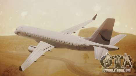 Embraer 170-100 Air Costa para GTA San Andreas esquerda vista
