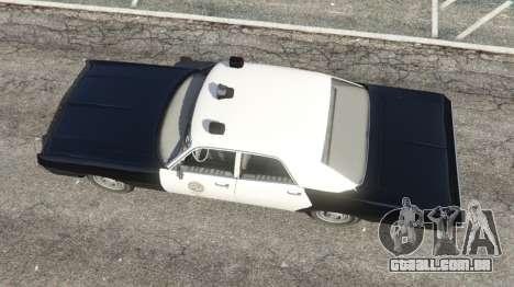 GTA 5 Dodge Polara 1971 Police v4.0 voltar vista