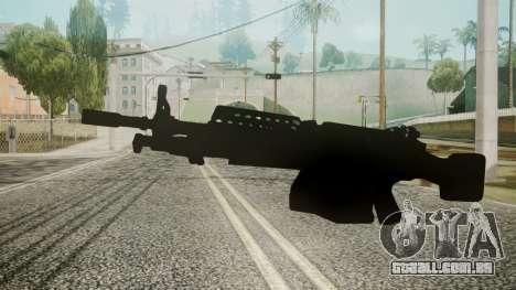 M249 Battlefield 3 para GTA San Andreas segunda tela