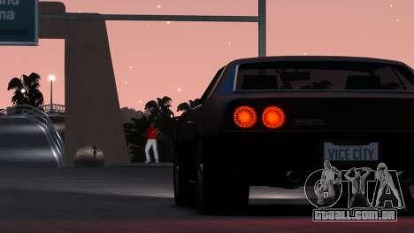Sabre Vigero Muscle Car para GTA 4 vista direita